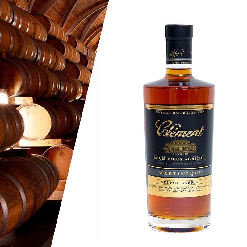 Clement Select Barrel rum francese